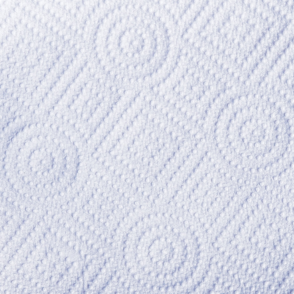 A close-up photograph of a paper towel pattern