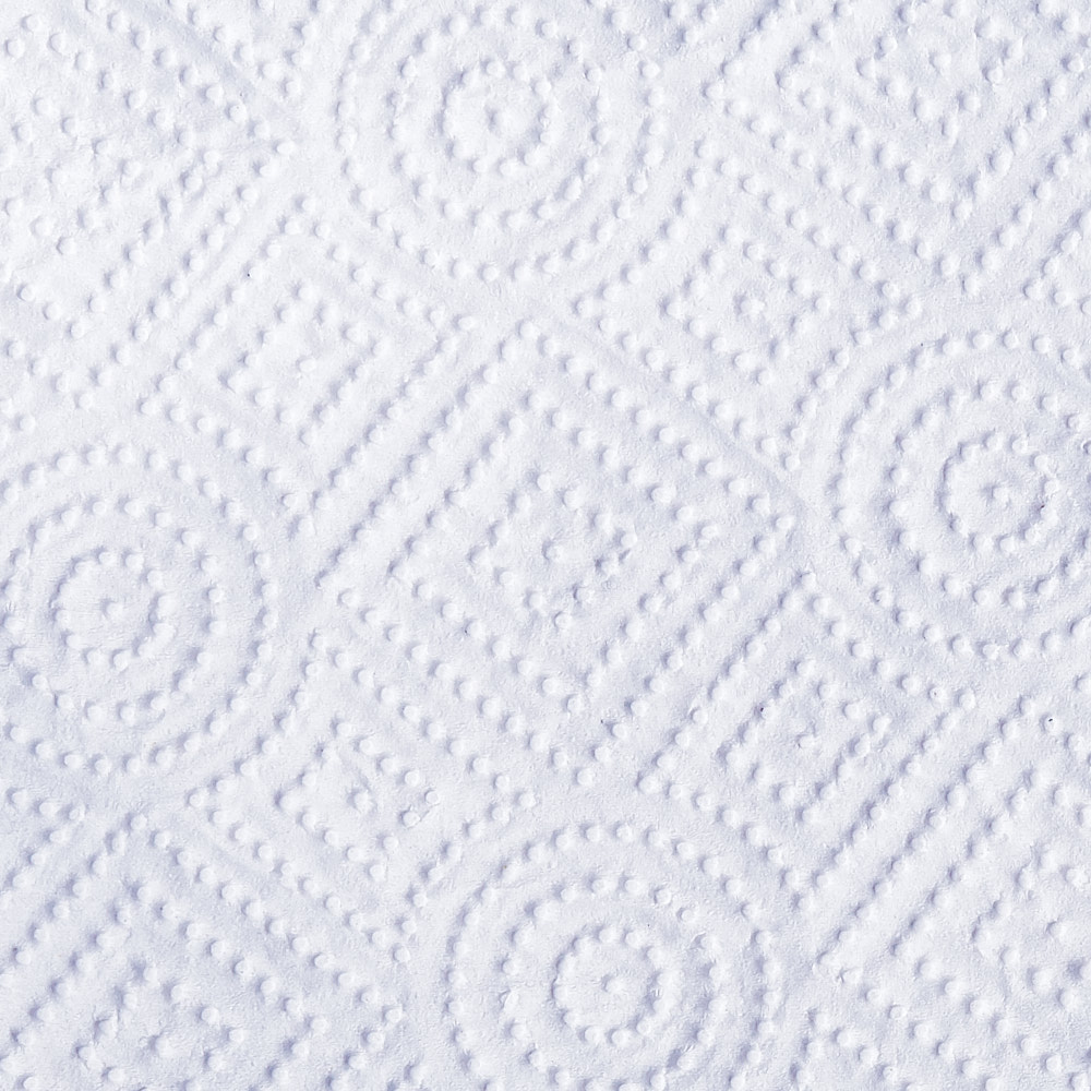 Photograph of the unique pattern on a paper towel