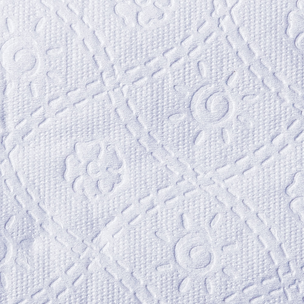 A close-up photograph of bath tissue paper (12 pack)